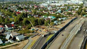 На Большом Казанском кольце готовят к открытию мост через Монастырскую протоку