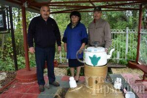 В черемшанском селе Кзыл Чишма около обновленного родника провели Сабантуй