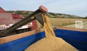 В Татарстане собрали более пяти млн тонн зерна