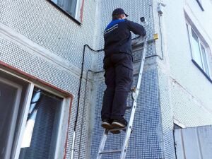 К концу года число камер на многоэтажках Нижнекамска и района достигнет 1,7 тыс.