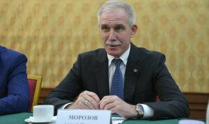 Сергей Морозов поздравил Рустама Минниханова с победой на выборах Президента РТ