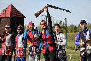 Татарстанские стрелки завоевали три медали командного чемпионата России