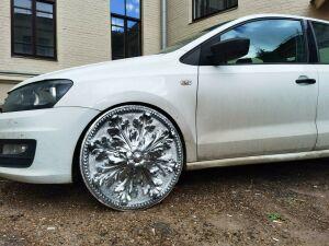 Мастерская из Казани шокировала автолюбителей трендом на лепные литые диски