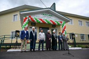 Муфтий Татарстана открыл в Елабуге школу «Ихсан» с татарским языком воспитания