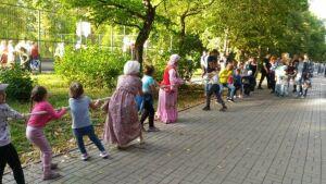 В Бугульме провели городской фестиваль традиционных народных игр «Шире круг»