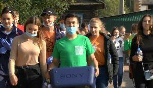 В погоне за чистотой: в Нижнекамске провели необычный субботник