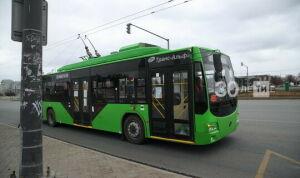 В Казани временно перестанет ходить троллейбус № 7