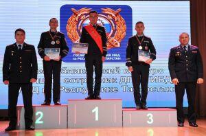 Лучшим инспектором ДПС Татарстана стал лейтенант полиции из Казани