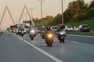 Казань посетили участники мотопробега