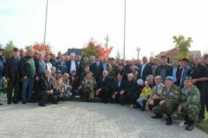 В Нурлате открыли памятник воинам группы советских войск в Германии
