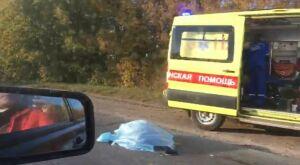 В Нижнекамске легковушка насмерть сбила переходившую дорогу женщину