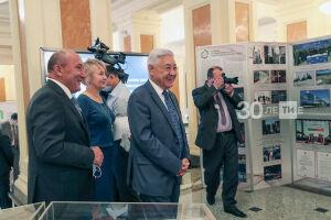 В Казани участникам совета по архивному делу представили выставку 100-летия ТАССР