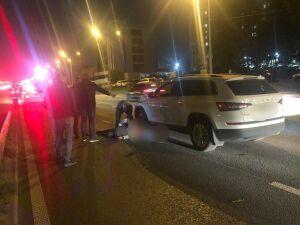 В Казани внедорожник насмерть сбил мужчину, переходящего дорогу рядом с переходом