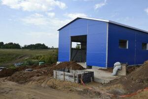 В мензелинском поселке Юртово началось строительство очистных сооружений