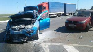 Иномарка при развороте на трассе М7 в РТ протаранила авто, есть пострадавшие