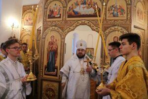 В селе Саконы Алексеевского района освятили храм