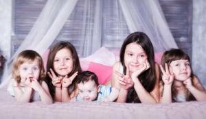 Многодетная жительница Нижнекамска родила шестую дочку