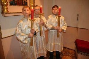 В Свято-Авраамиевском храме в Болгаре прошло детское богослужение