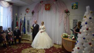 В Буинске родился первенец 2021 года и сыграли первую свадьбу