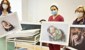 В новогодние каникулы в нижнекамском роддоме появились на свет 65 малышей