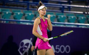 Кудерметова о выходе в полуфинал турнира в Абу-Даби: Я пыталась играть агрессивно