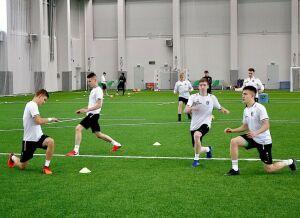 Молодежный состав «Рубина» вышел из отпуска и начал тренировки в Казани