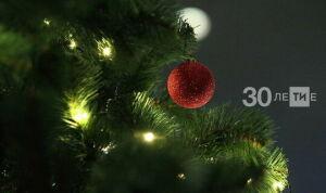 В Нижнекамске 13 января выберут лучшее новогоднее оформление