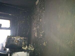 В Альметьевске из пожара спасли мать с двумя детьми