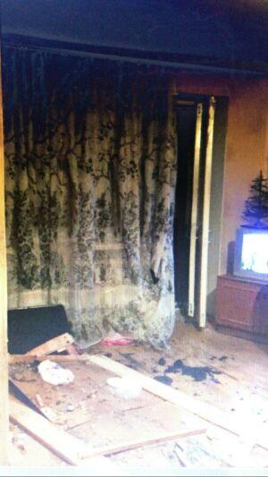 Житель Зеленодольска устроил пожар в пятиэтажке, не потушив сигарету
