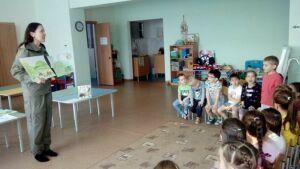 Азнакаевским дошкольникам рассказали о значении заповедников и парков