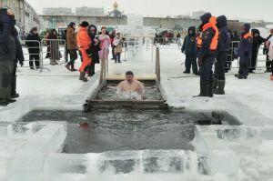 В Набережных Челнах крещенские купания пройдут на реке Мелекеска