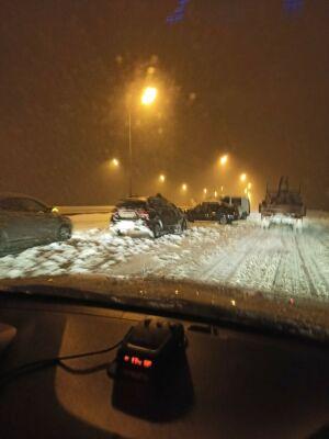 Очередное массовое ДТП на трассе Казань - Зеленодольск: столкнулись шесть машин