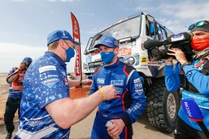 Владимир Чагин: Рад, что в этом году до финиша добрались все четыре машины