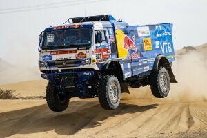 44 грузовика выйдут на старт пролога ралли-марафона «Дакар»