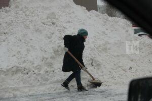 Спасские юнармейцы помогают в уборке снежных заносов