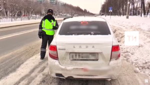 За десять дней таксистам в РТ выписали более 1,5 тыс. штрафов