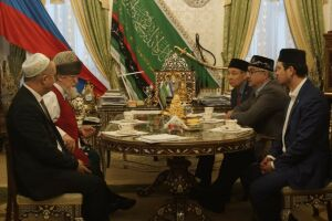 Шайхразиев и Таджуддин обсудили подготовку к 1100-летию принятия ислама булгарами