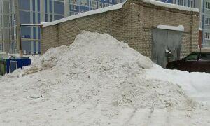 Экологи выявили в Нижнекамске шесть несанкционированных свалок снега