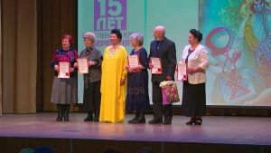 В Нижнекамске состоялся концерт в честь двух юбилеев