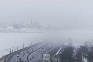 В ближайшие сутки на Татарстан опустится туман