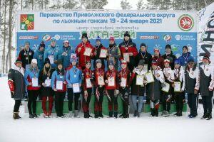 Сборная РТ заняла третье место на первенстве ПФО по лыжным гонкам в Заинске