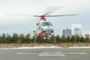 За 2020 год вертолет санитарной авиации совершил 193 вылета, спасая татарстанцев