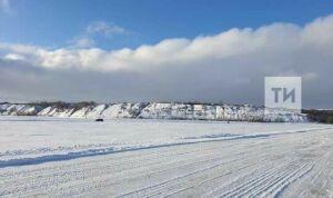 Вновь заработала ледовая переправа через Каму в Татарстане