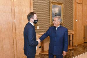 Президент РТ встретился с главой Ассоциации агентств инвестиций и развития