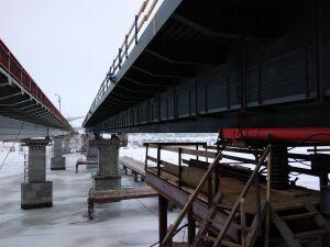 Пустить движение по новому мосту через Свиягу на М7 в Татарстане планируют осенью