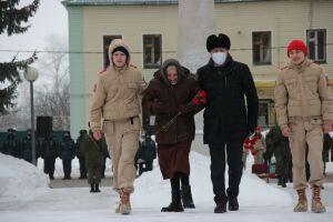 Участниками митинга в Тетюшах стали живые свидетели блокады Лениграда