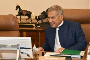 Минниханову представили проекты «Татнефти» в области альтернативной энергетики