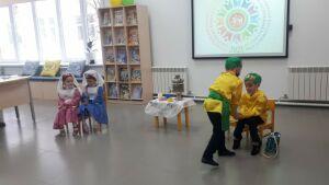 В Кукморе для воспитанников детсадов организовали путешествие в прошлое