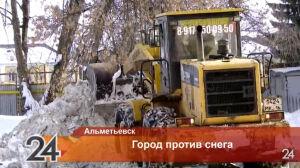 Коммунальщиков в Альметьевске накажут за неубранный снег и сосульки