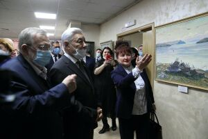 В Казани открылась выставка картин художников из разных уголков России
